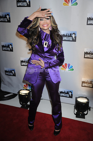 La Toya Jackson at the press conference introducing the All-Star Celebrity Apprentice Season 13 cast. Jack Studios in New York City. October 12, 2012.. Credit: Dennis Van Tine/MediaPunch