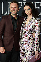 "LOS ANGELES, USA. September 30, 2019: Chris Hardwick & Lydia Hearst-Shaw at the world premiere of ""Maleficent: Mistress of Evil"" at the El Capitan Theatre.<br /> Picture: Jessica Sherman/Featureflash"
