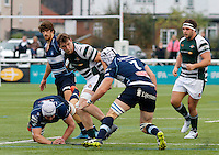 Ealing's William Ryan in action during the Greene King IPA Championship match between Ealing Trailfinders and Bedford Blues at Castle Bar , West Ealing , England  on 29 October 2016. Photo by Carlton Myrie / PRiME Media
