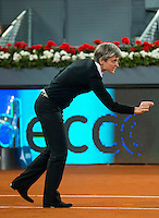 Referee during WTA Finals Mutua Madrid Open Tennis 2016 in Madrid, May 07, 2016. (ALTERPHOTOS/BorjaB.Hojas) /NortePhoto.com