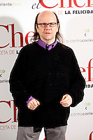 Spanish actor Santiago Segura attends 'El Chef, la receta de la felicidad' ('Comme un chef') photocall at Intercontinental Hotel in Madrid Spain. November 26, 2012. (ALTERPHOTOS/Caro Marin) /NortePhoto