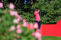 Julian Suri (USA) on the 2nd tee during the final round at the WGC HSBC Champions 2018, Sheshan Golf CLub, Shanghai, China. 28/10/2018.<br /> Picture Fran Caffrey / Golffile.ie<br /> <br /> All photo usage must carry mandatory copyright credit (&copy; Golffile | Fran Caffrey)