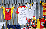 21.04.2018 Partick Thistle v Hamilton:  Tributes to former manager John Lambie at Firhill Stadium