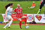 12.08.2017, Sportplatz, Hawangen, GER, FSP, Bayern M&uuml;nchen vs FC Z&uuml;rich Frauen, im Bild Rahel Moser (Zuerich #10), Mandy Islacker (Muenchen #23)<br /> <br /> Foto &copy; nordphoto / Hafner