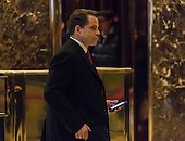Trump finance advsor Anthony Scaramucci is seen in the lobby of Trump Tower in New York, NY, USA on December 14, 2016. <br /> Credit: Albin Lohr-Jones / Pool via CNP