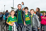 Robert Monaghan, Michael Boyle, David Lane and Darragh Nolan at theKerry GAA Night at Dogs Race of Champions at the Kingdom Greyhound Stadium on Friday
