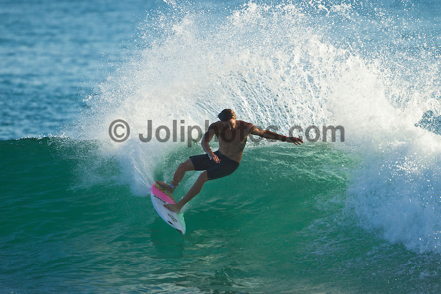 BURLEIGH, Queensland/Australia (Saturday, 21 January, 2012) Thomas Wood (AUS). – Free surfing at Burleigh Heads today..Photo: joliphotos.com