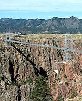 The Royal Gorge Bridge and Park along the upper Arkansas River, near Canyon City, Colorado, Saturday, May 21, 2016. <br /> <br /> Photo by Matt Nager