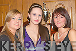 At the Knocknagoshel GAA Social in The Devon Inn Hotel Templeglantine on Saturday nighy were Sarah, Miriam and Sheila Keane.....   Copyright Kerry's Eye 2008