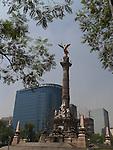 MONUMENT DE INDEPENDENCIA PASEO DE LA REFORMA MEXICO CITY DF