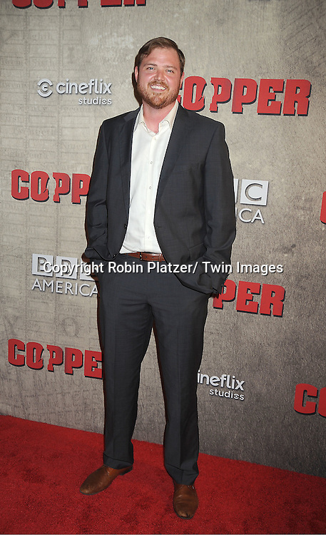 "actor Dylan Taylor attends the BBC America premiere of The New York 1860's Crime Drama ""Copper"" on August 15, 2012 at MoMa in New York City."