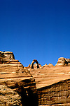 UT: Utah; Arches National Park, Delicate Arch               .Photo Copyright: Lee Foster, lee@fostertravel.com, www.fostertravel.com, (510) 549-2202.Image: utarch216