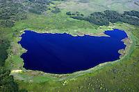 Aerea da Reserva Biológica Lago Piratuba. Amapa. Foto de Rogerio Reis..