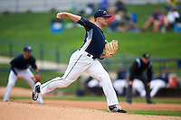 West Michigan Whitecaps pitcher Spencer Turnbull (32) delivers a pitch during a game against the Cedar Rapids Kernels on June 7, 2015 at Fifth Third Ballpark in Comstock Park, Michigan.  West Michigan defeated Cedar Rapids 6-2.  (Mike Janes/Four Seam Images)