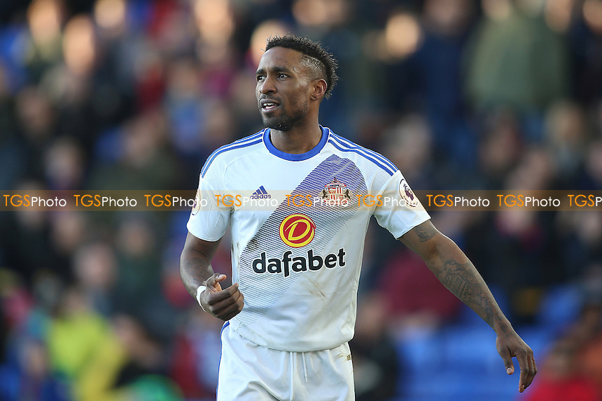 Jermain Defoe of Sunderland scores his first goal and celebrates during Crystal Palace vs Sunderland AFC, Premier League Football at Selhurst Park on 4th February 2017