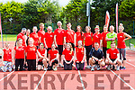 Slieve Luachra boxing club at the Hercoi Leán Island Warrior Challenge at An Riocht AC on Saturday