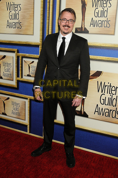 1 February 2014 - Los Angeles, California - Vince Gilligan. 2014 Writers Guild Awards West Coast held at the JW Marriott Hotel.  <br /> CAP/ADM/BP<br /> &copy;Byron Purvis/AdMedia/Capital Pictures