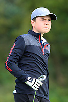 Gavin Lane (Athenry) on the 1st tee during the Connacht U12, U14, U16, U18 Close Finals 2019 in Mountbellew Golf Club, Mountbellew, Co. Galway on Monday 12th August 2019.<br /> <br /> Picture:  Thos Caffrey / www.golffile.ie<br /> <br /> All photos usage must carry mandatory copyright credit (© Golffile | Thos Caffrey)