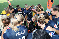 Cary, North Carolina  - Saturday July 13, 2019: North Carolina Courage vs Reign FC at Sahlen's Stadium at WakeMed Soccer Park.