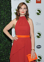 NEW YORK, NY - OCTOBER 04: Actor Emily Deschanel attends the 2018 Farm Sanctuary on the Hudson gala at Pier 60 on October 4, 2018 in New York City.     <br /> CAP/MPI/JP<br /> &copy;JP/MPI/Capital Pictures