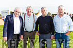 Danny tim O'sullivan, Brendan Ferris, Eoin Griffin and John Sugrue  at the Treshing for Cancer in Beaufort on Sunday