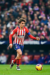 Antoine Griezmann of Atletico de Madrid in action during the La Liga 2018-19 match between Atletico de Madrid and Deportivo Alaves at Wanda Metropolitano on December 08 2018 in Madrid, Spain. Photo by Diego Souto / Power Sport Images
