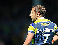 PICTURE BY CHRIS MANGNALL /SWPIX.COM...Rugby League -  Super League  - Leeds Rhinos v Hull FC - Headingley Carnegie Stadium , Leeds, England  - 06/07/12... Leeds Rob Burrow wearing a charity shirt displaying his twitter tag @Rob7Burrow
