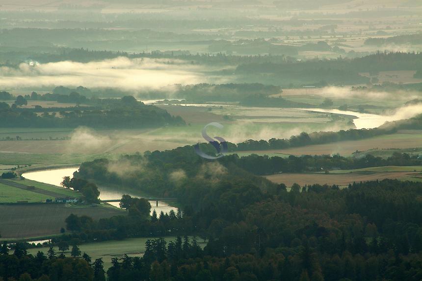 The River Tay from Birnam Hill, Birnam, Perthshire