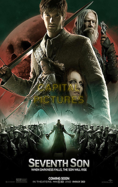 POSTER ART<br /> in Seventh Son (2015) <br /> *Filmstill - Editorial Use Only*<br /> CAP/NFS<br /> Image supplied by Capital Pictures