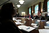 Gina Haspel, Director, Central Intelligence Agency (CIA) attends a Cabinet Meeting with U.S. President Donald Trump at the White House in Washington, DC on October 21, 2019. <br /> Credit: Yuri Gripas / Pool via CNP