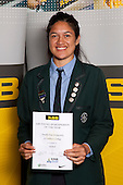 Netball winner Toesulu Tone-Fitzpatrick from St Cuthberts College. ASB College Sport Young Sportsperson of the Year Awards held at Eden Park, Auckland, on November 11th 2010.