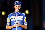 Enric Mas Nicolau (ESP) Quick-Step Floors finishes on the podium in 2nd place overall at the end of the final Stage 21 of the La Vuelta 2018, running 100.9km for Alcorcon to Madrid, Spain. 16th September 2018.                   <br /> Picture: Unipublic/Photogomezsport | Cyclefile<br /> <br /> <br /> All photos usage must carry mandatory copyright credit (© Cyclefile | Unipublic/Photogomezsport)