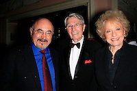 Beverly Hills, California - September 7, 2006.Bob Hoskins, Army Archerd and wife Selma at the Afterparty for the Los Angeles Premiere of Hollywoodland at the Beverly Hills Hotel..Photo by Nina Prommer/Milestone Photo