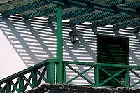Europe/Espagne/Canaries/Lanzarote/San Bartolomé : Restaurant Casa del Campesino par l'architecte César Manrique