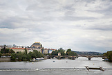 CZECH REPUBLIC, Prague, Charles Bridge tower at west end of the bridge