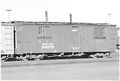 &quot;Living car&quot; 04379 at Alamosa.<br /> D&amp;RGW  Alamosa, CO  Taken by Richardson, Robert W.