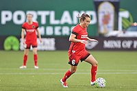 Portland, Oregon - Sunday April 17, 2016: Portland Thorns FC midfielder Meleana Shim (6). The Portland Thorns play the Orlando Pride during a regular season NWSL match at Providence Park.