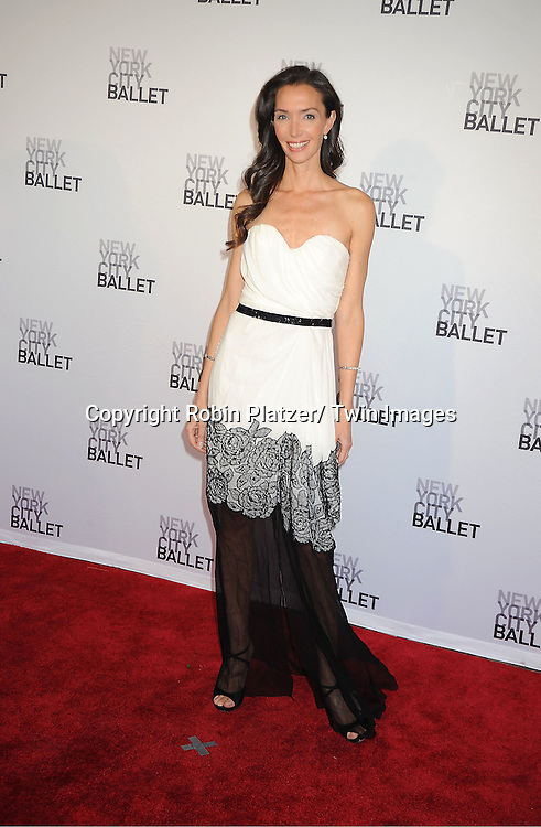Olivia Chantecaille attends the New York City Ballet Spring Gala on May 10, 2012 at David Koch Theater in Lincoln Center in New York City.