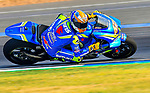 Team SUZUKI ECSTAR's rider Alex Rins of Spain rides during the MotoGP Official Test at Chang International Circuit on 18 February 2018, in Buriram, Thailand. Photo by Kaikungwon Duanjumroon / Power Sport Images
