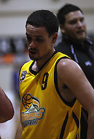 Dynamos guard Josh Paurini after the loss during the NBL Round 9 match between the Wellington Saints and Nelson Giants at TSB Bank Arena, Wellington, New Zealand on Thursday 7 May 2009. Photo: Dave Lintott / lintottphoto.co.nz