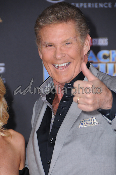 """29 January 2018 - Hollywood, California - David Hasslehoff. Marvel Studios' """"Black Panther"""" World Premiere held at Dolby Theater. Photo Credit: Birdie Thompson/AdMedia"""