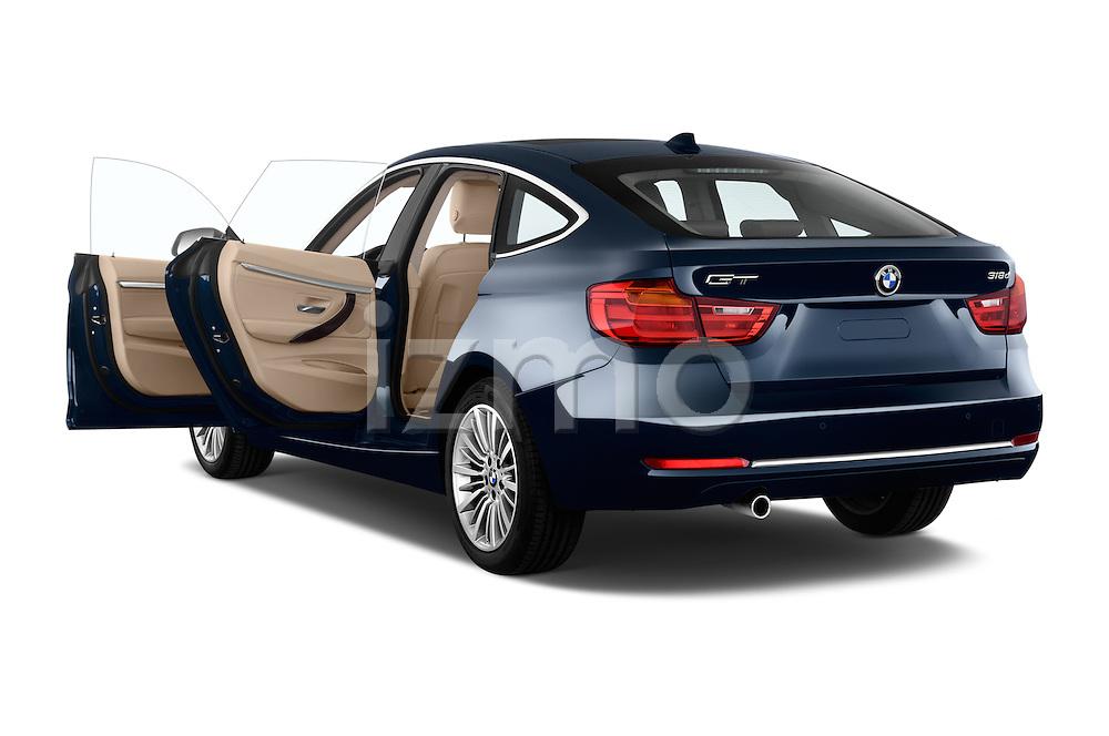 Rear three quarter door view of a 2013 Bmw SERIES 3 Luxury 5 Door Hatchback 2WD