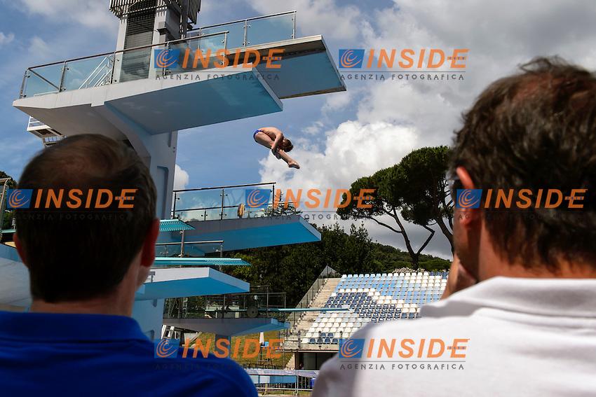 Edoardo Semeria Canottieri Milano <br /> 3m Springboard Men <br /> Roma 20-06-2016 Stadio del Nuoto Foro Italico Tuffi Campionati Italiani <br /> Foto Andrea Staccioli Insidefoto