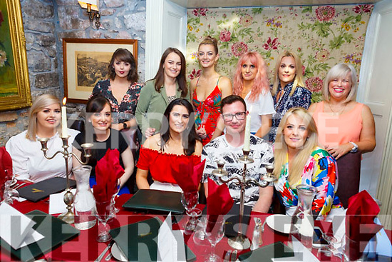 Breda McMahon from Currow (seated front centre) celebrating her birthday in Cassidys with friends on Saturday.<br /> Seated l-r, Nadine O'Grady, Ellen Houlihan, Breda McMahon, Donal Flaherty and Orla Daly.<br /> Back l-r, Angela Keane, Grace and Niamh Clifford, Maura Johnson, Leanne O'Driscoll and Caitriona Rohan.