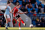 Aimee Palmer of Sheffield United during the The FA Women's Championship match at the Proact Stadium, Chesterfield. Picture date: 12th January 2020. Picture credit should read: James Wilson/Sportimage