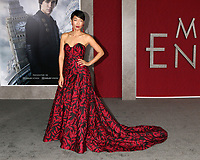 "LOS ANGELES - DEC 5:  Jihae Kim at the ""Mortal Engines"" Los Angeles Premiere at the Village Theater on December 5, 2018 in Westwood, CA"