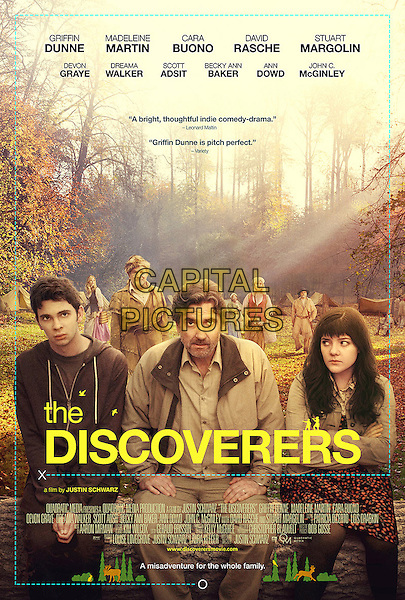 POSTER ART<br /> in The Discoverers (2012) <br /> *Filmstill - Editorial Use Only*<br /> CAP/FB<br /> Image supplied by Capital Pictures