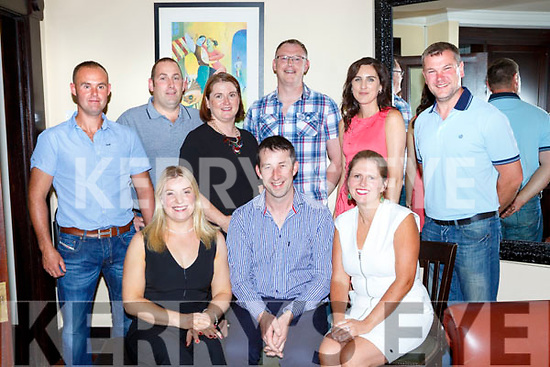 Pat Savage Lixnaw celebrated his 30th birthday with his family and friends in Lord Kenmares restaurant on Saturday night front row l-r: Marie O'Connor, Pat Savage, Aisling Stack. Back row: Mike Kissane, Johnny Barrett, Elaine Barrett, Robbie and Emma Larkin, and Eamon Stack
