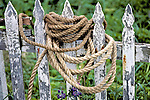 Rope On A Fence