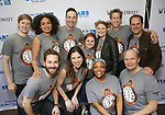 'Groundhog Day' cast backstage at United Airlines Presents #StarsInTheAlley free outdoor concert in Shubert Alley on 6/2/2017 in New York City.